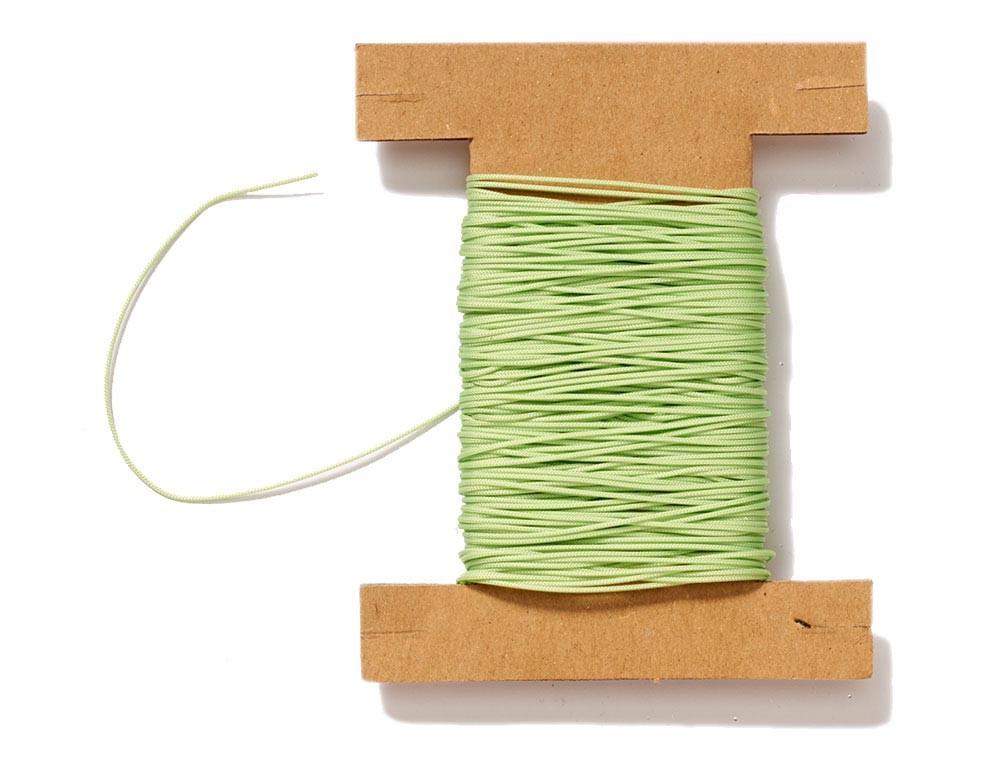 Plisseeschnur hellgrün