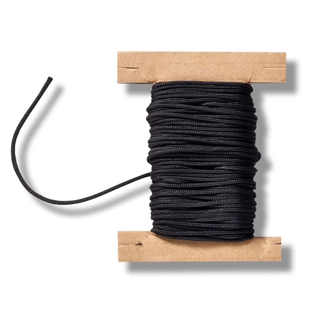Zugschnur für Jalousien schwarz