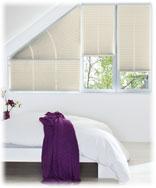 Schlafzimmer Plissee Weiß