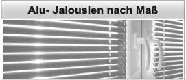 Jalousien nach Maß